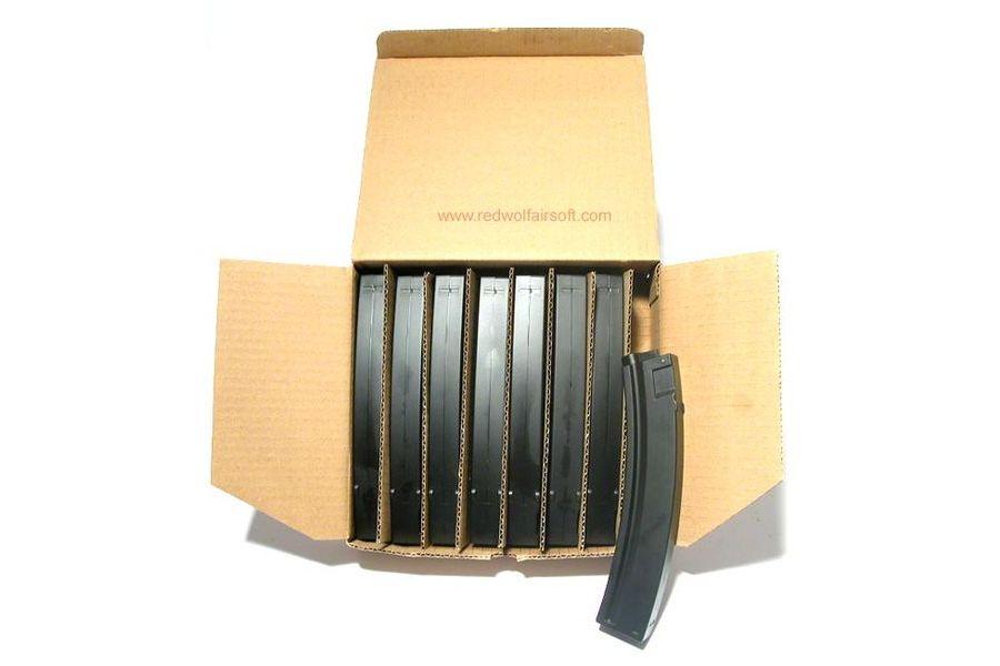 MAG MP5 90rd Plastic Magazine Box Set (8 Pack)