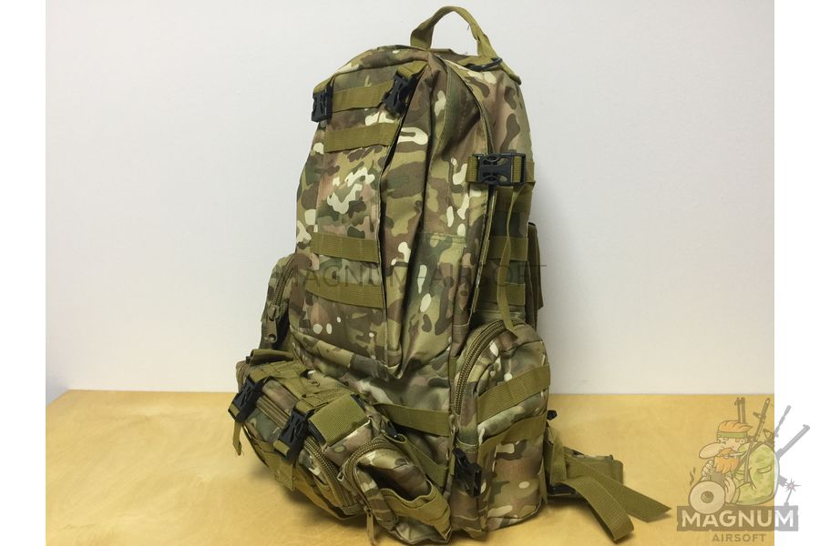 AS BS0007CP 2 - Рюкзак тактический 50 литров (48х30х20cm) - Multicam