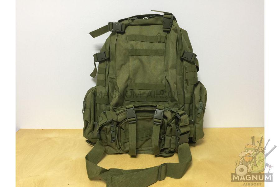 AS BS0007OD 1 - Рюкзак тактический 50 литров (48х30х20cm) AS-BS0007OD - Олива