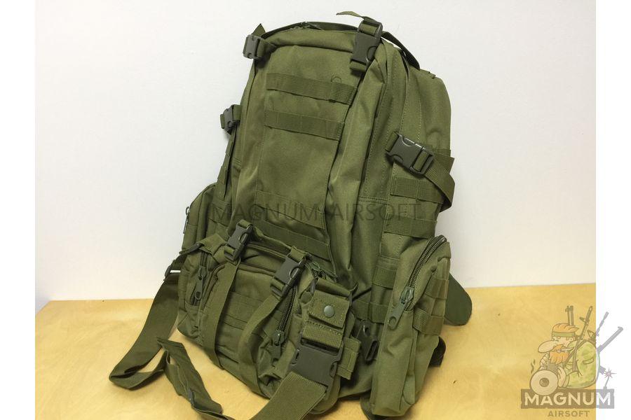 AS BS0007OD 2 - Рюкзак тактический 50 литров (48х30х20cm) AS-BS0007OD - Олива