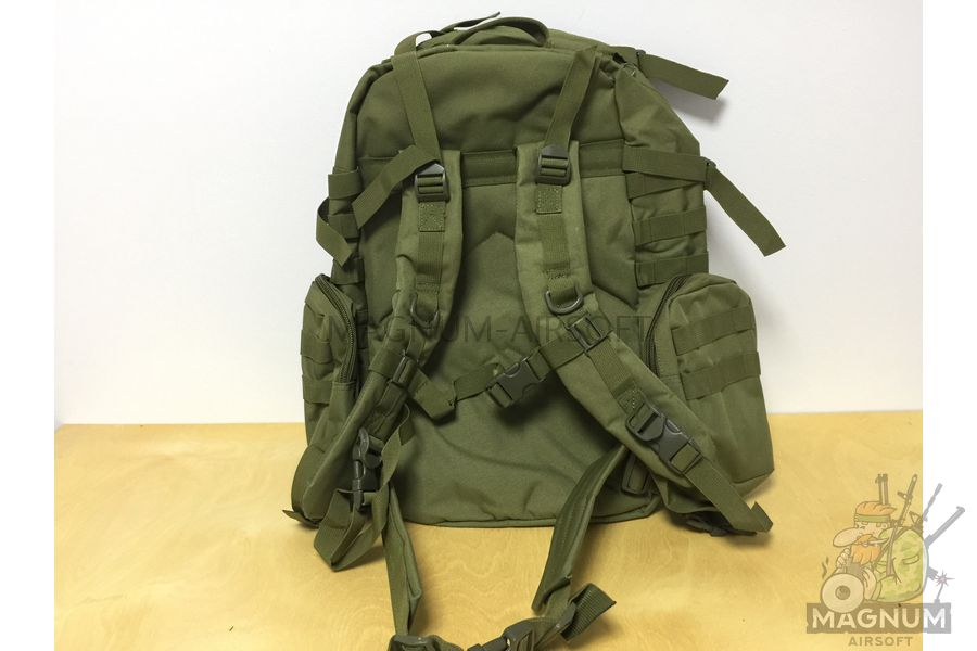 AS BS0007OD 3 - Рюкзак тактический 50 литров (48х30х20cm) AS-BS0007OD - Олива