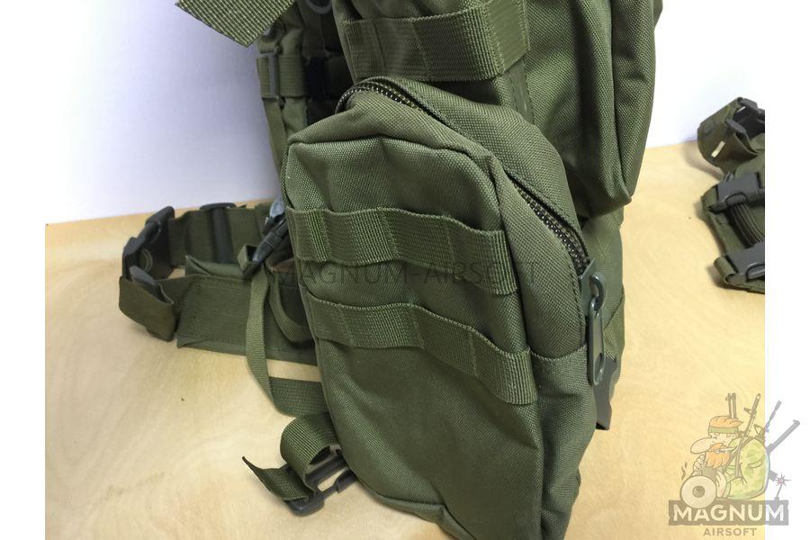 AS BS0007OD 5 - Рюкзак тактический 50 литров (48х30х20cm) AS-BS0007OD - Олива