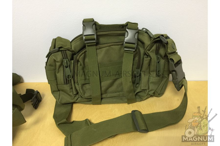 AS BS0007OD 6 - Рюкзак тактический 50 литров (48х30х20cm) AS-BS0007OD - Олива