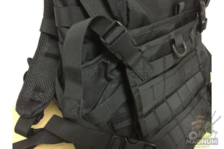 AS BS0016B 3 - Рюкзак тактический Molle Patrol Rifle AS-BS0016B (50x27cm)- Черный