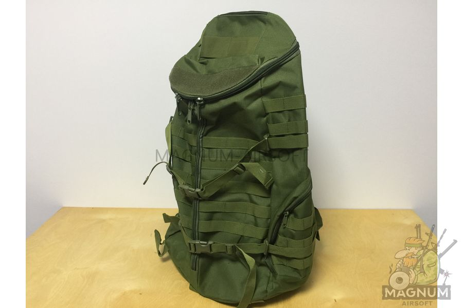 AS BS0075OD 1 - Рюкзак CAMELBAK TRI ZIP реплика на 65литров (60x33cm) - Олива