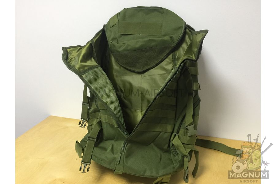 AS BS0075OD 2 - Рюкзак CAMELBAK TRI ZIP реплика на 65литров (60x33cm) - Олива