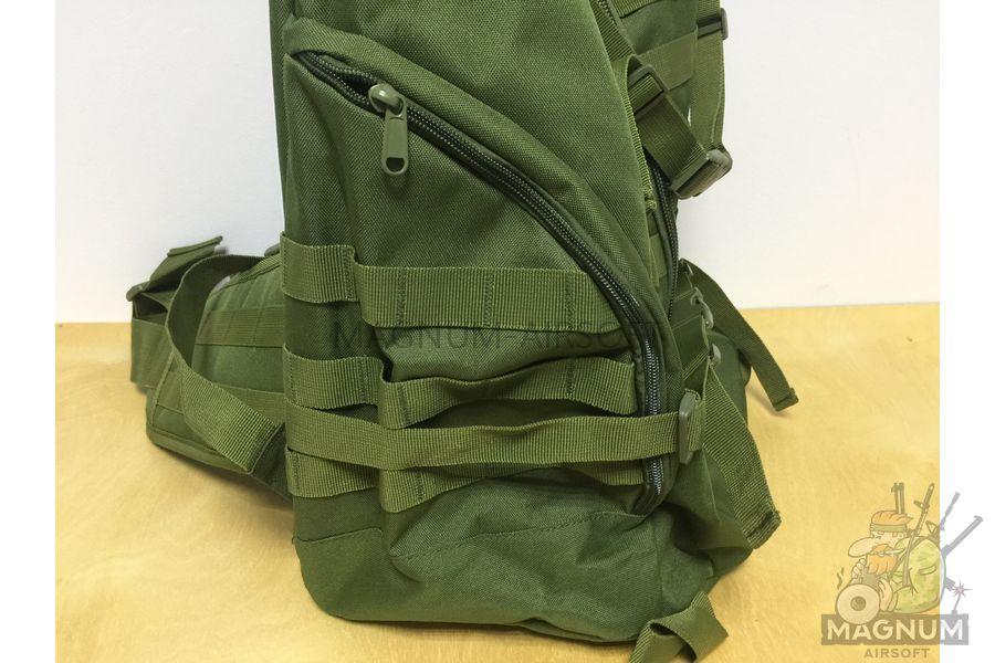 AS BS0075OD 5 - Рюкзак CAMELBAK TRI ZIP реплика на 65литров (60x33cm) - Олива