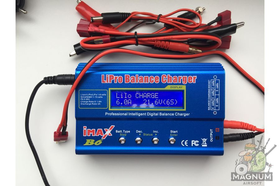 ImaxB6 10 - Зарядное устройство IMAX B6 12V без блока питания (копия)