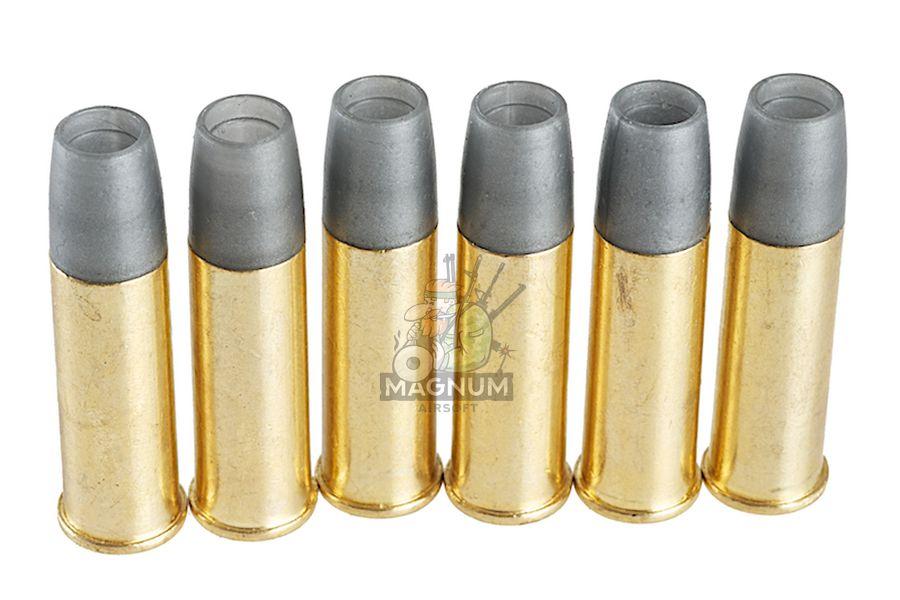 MB028 1 - Gun Heaven (WinGun) Webley 6mm Shell for MK VI Co2 Revolver (6pcs / box)