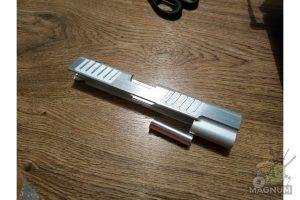 Airsoft Masterpiece Custom ver.17 Standard Slide for Hi-CAPA/1911 (Silver)