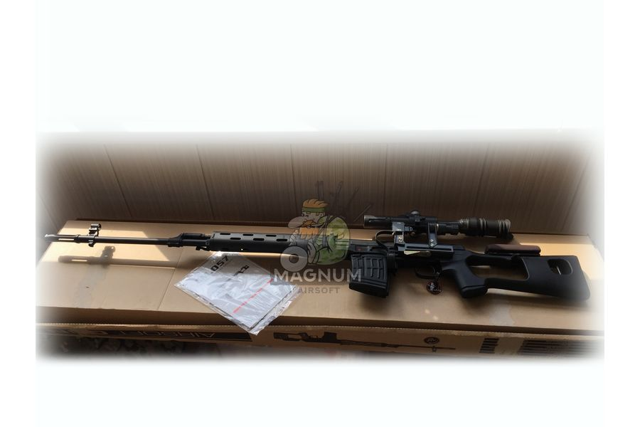 Cyma SVD 1 - Снайперская винтовка Cyma СВД AEG (CM057A)