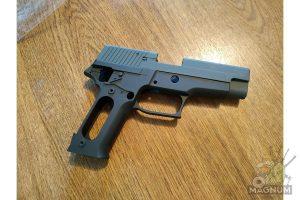 Guarder Aluminum Slide & Frame for MARUI P226 Navy (Black/None Marking)