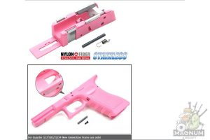 Guarder G17/18C/22/34 New Generation Frame Rail Mount (Pink)
