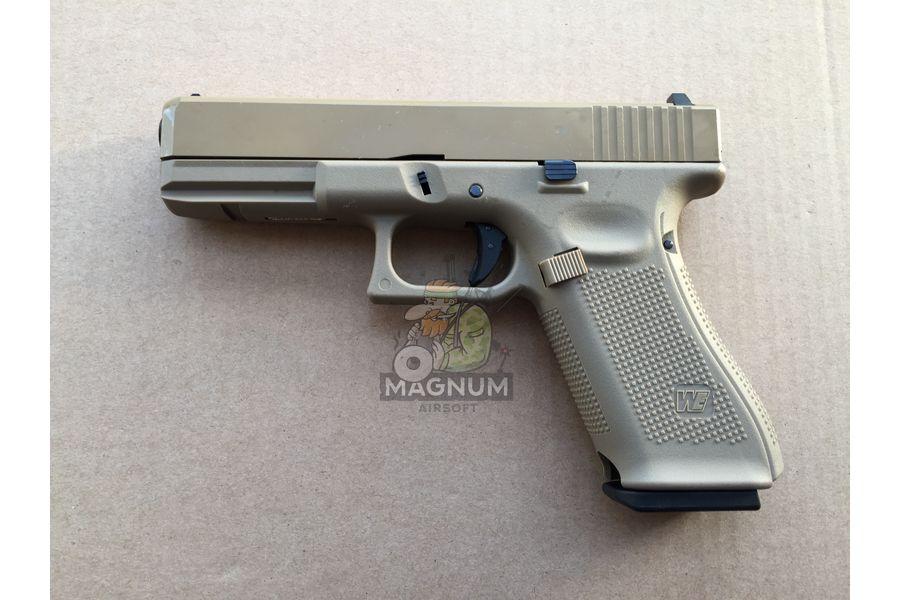 IMG 4043 27 03 20 05 52 - Пистолет WE GLOCK-17 gen5 WE-G001VB-TAN