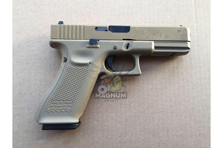IMG 4044 27 03 20 05 52 - Пистолет WE GLOCK-17 gen5 WE-G001VB-TAN