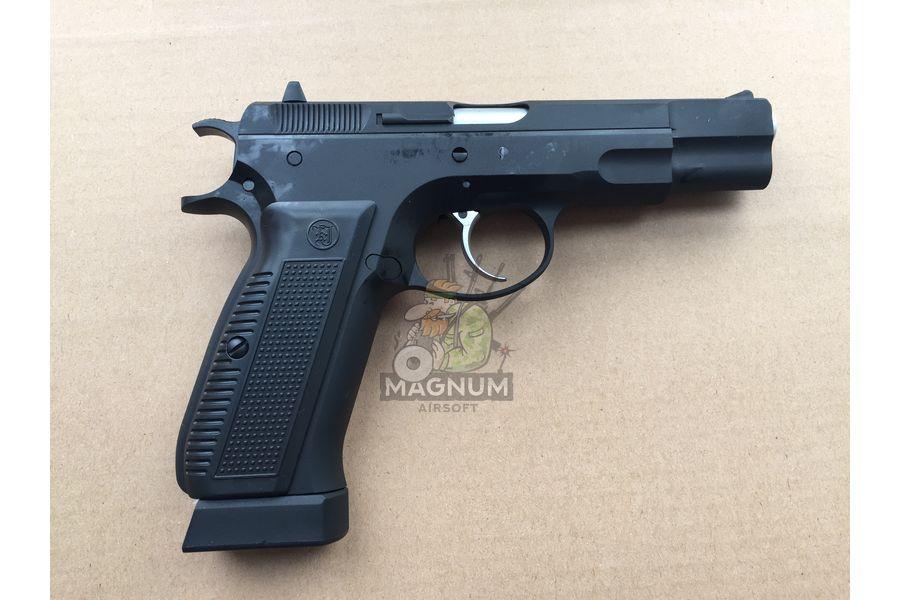 KJW CZ75 CO2 2 - Пистолет KJW CZ75 Black GBB - KP-09.CO2 CP430