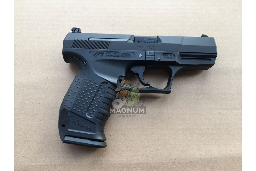 WE WALTHER P99 1 - Пистолет WE WALTHER P99 GBB WE-PX001-BK