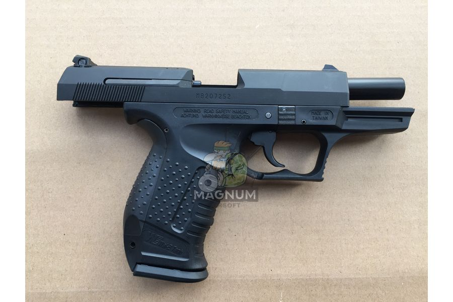 WE WALTHER P99 3 - Пистолет WE WALTHER P99 GBB WE-PX001-BK