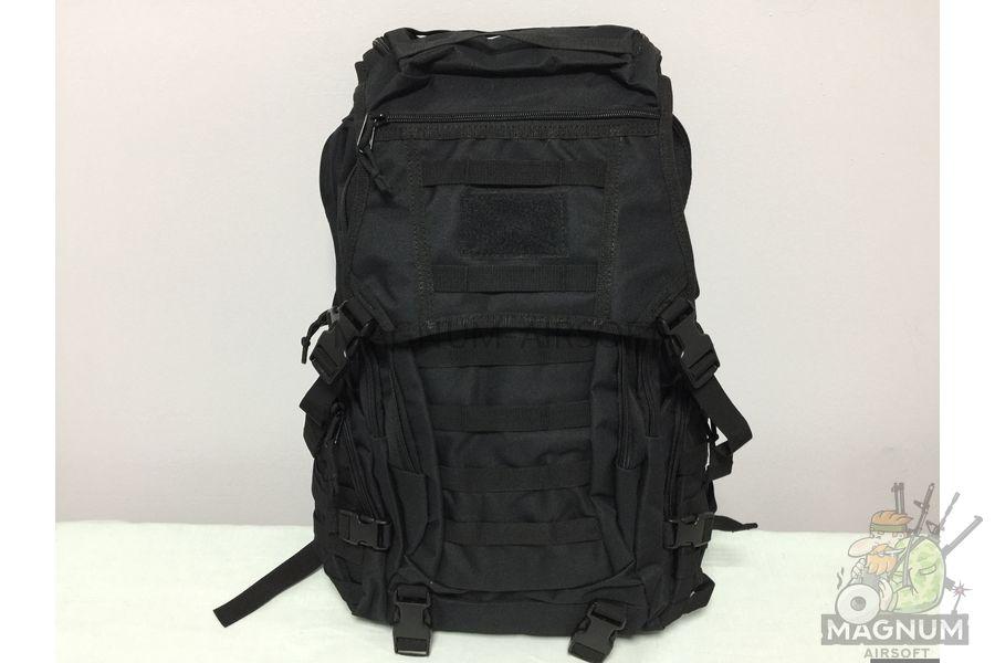 IMG 4178 18 04 20 04 01 - Рюкзак тактический 19 литров - Черный (27x50x14cm)