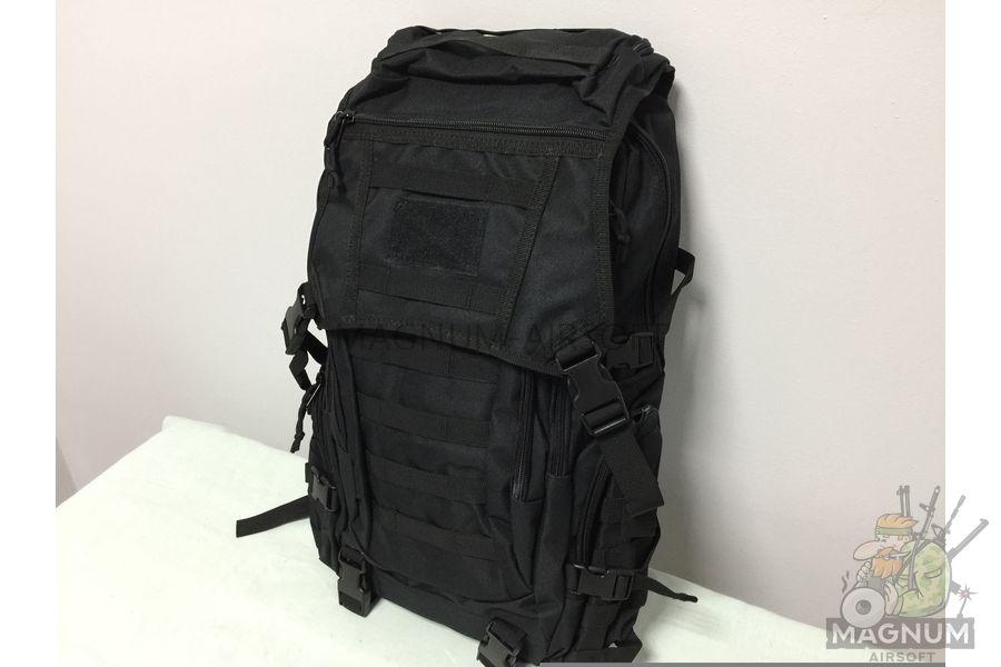 IMG 4179 18 04 20 04 01 - Рюкзак тактический 19 литров - Черный (27x50x14cm)