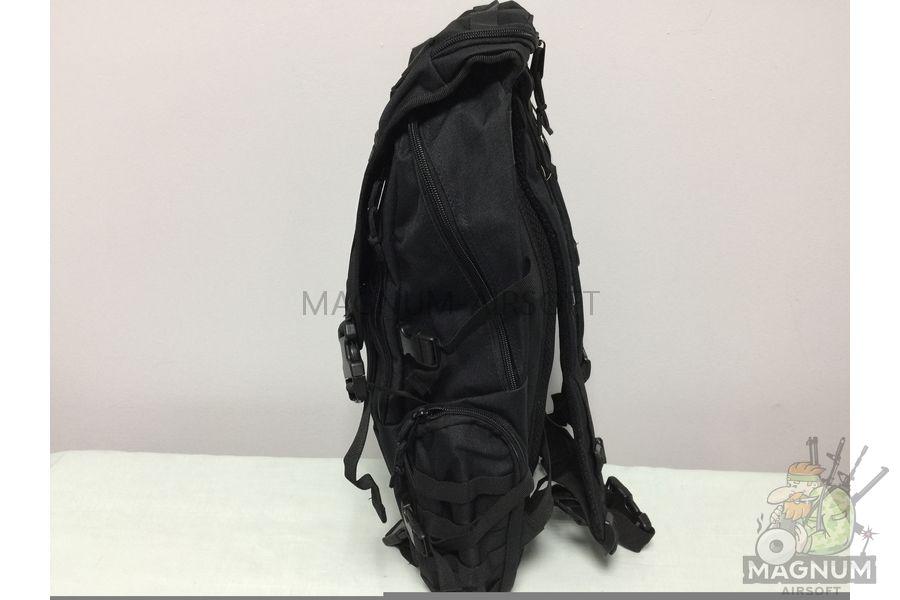 IMG 4180 18 04 20 04 01 - Рюкзак тактический 19 литров - Черный (27x50x14cm)