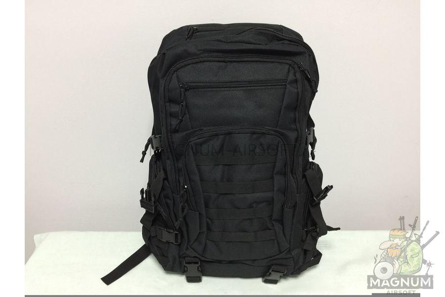 IMG 4182 18 04 20 04 01 - Рюкзак тактический 19 литров - Черный (27x50x14cm)
