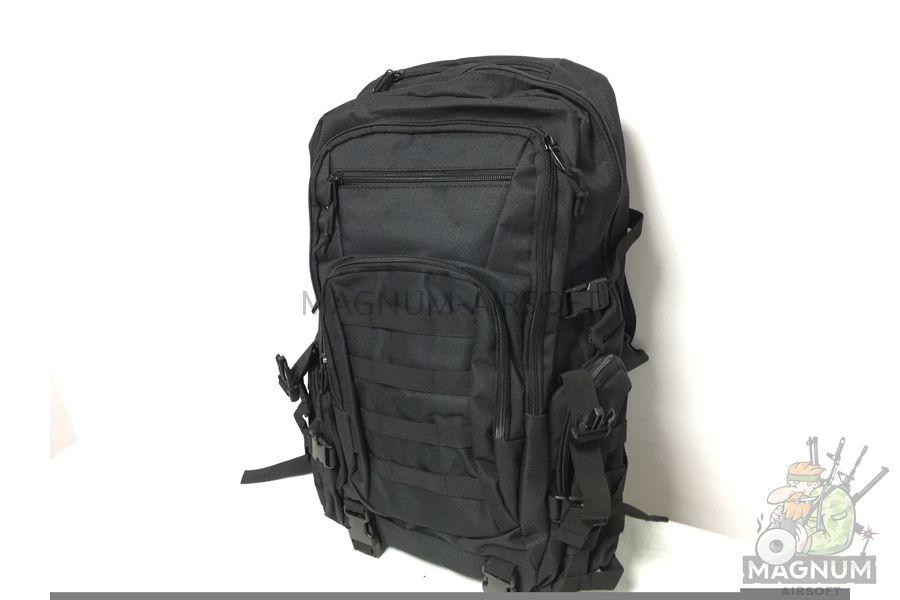 IMG 4183 18 04 20 04 02 - Рюкзак тактический 19 литров - Черный (27x50x14cm)