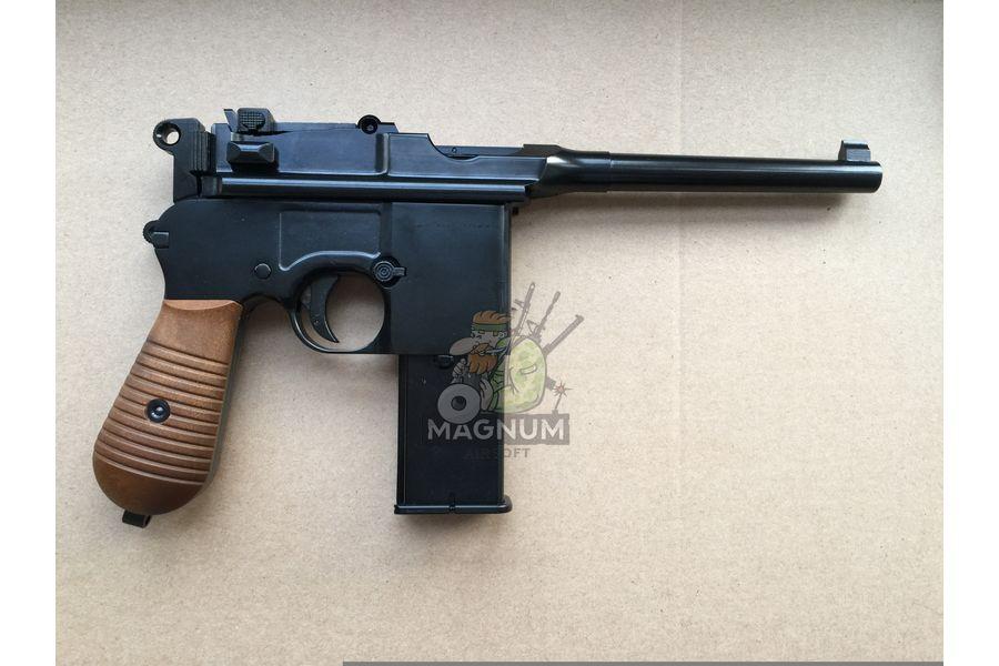 IMG 4205 18 04 20 06 43 - Пистолет WE Mauser 712 (пластик под дерево) WE-712-BK