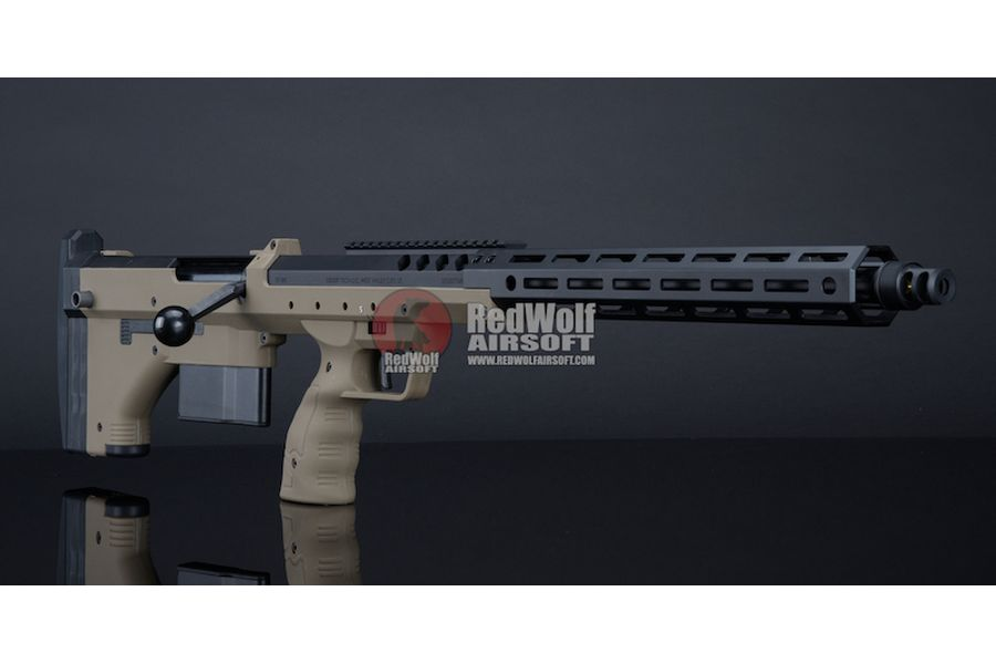 Silverback SRS A2 (22 inches Barrel) Licensed by Desert Tech - FDE