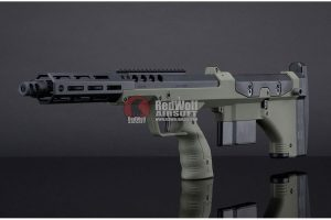 Silverback SRS A2 Covert (16 inches Barrel) Licensed by Desert Tech - OD (Left Hand)