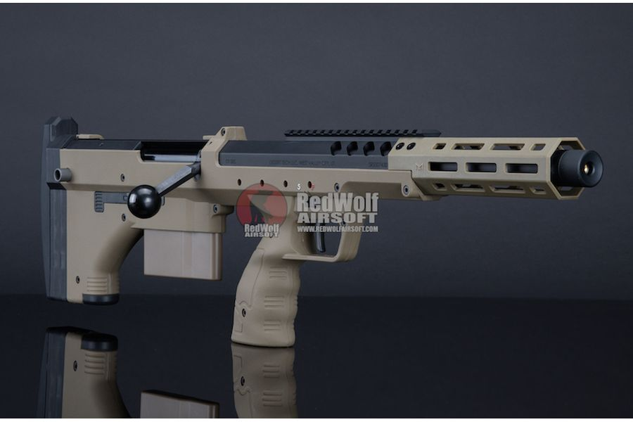 Silverback SRS A2 Sport (16 inches Barrel) Licensed by Desert Tech - FDE