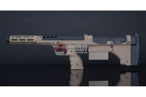 Silverback SRS A2 Sport (16 inches Barrel) Licensed by Desert Tech - FDE (Left Hand)