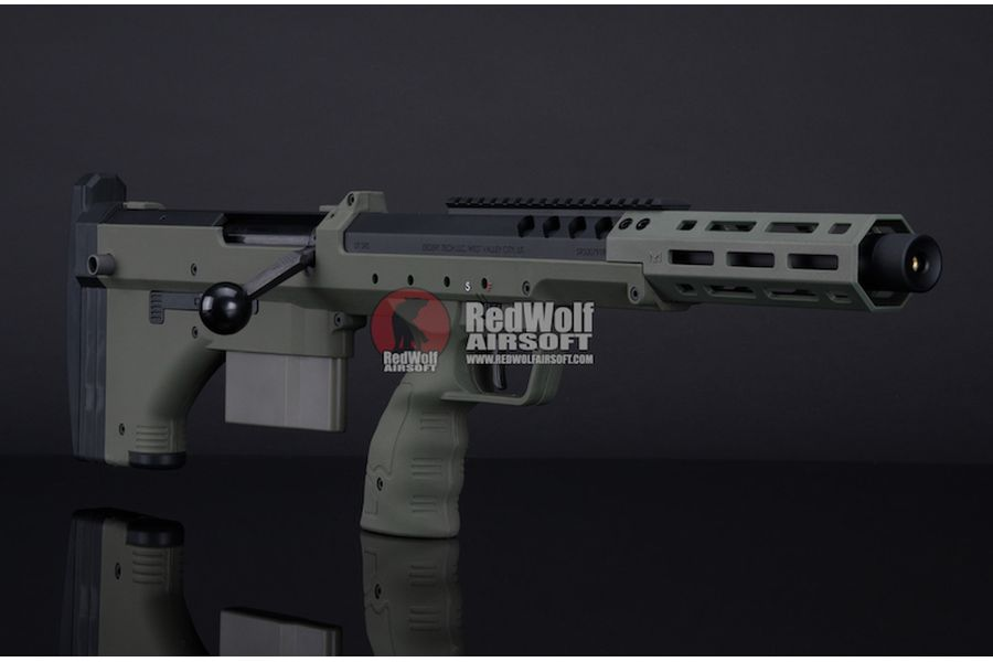 Silverback SRS A2 Sport (16 inches Barrel) Licensed by Desert Tech - OD (Left Hand)