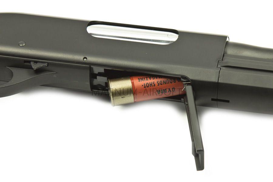 Drobovik Cyma Remington M870 MAGPUL metall BK CM355LM BK 5 1 - Дробовик Cyma M870 MAGPUL SPRING CM355LM BK