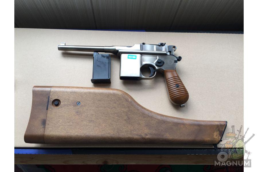 IMG 4432 - Пистолет WE Mauser 712 (пластик под дерево) WE-712-SV