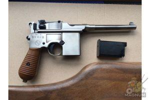 IMG 4434 300x200 - Пистолет WE Mauser 712 (пластик под дерево) WE-712-SV