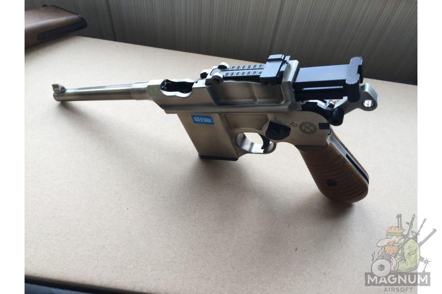IMG 4437 - Пистолет WE Mauser 712 (пластик под дерево) WE-712-SV