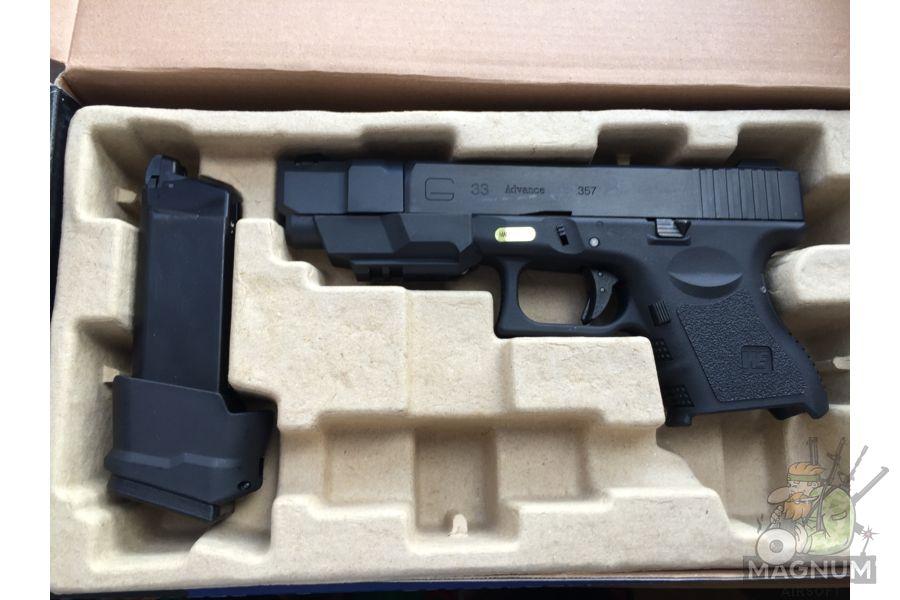IMG 4818 - Пистолет WE GLOCK-33 gen3 WE-G007A-BK / GP624
