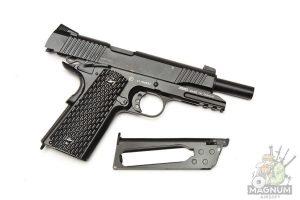 Пистолет KWC Colt 1911 Kimber Warrior CO2 GBB (KCB-77AHN)