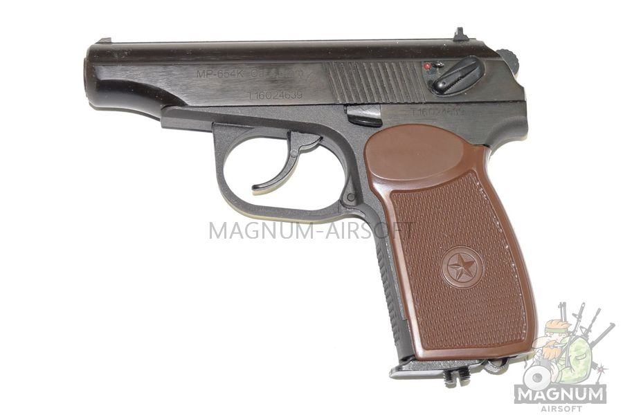 MR 654K 20 2 - Пистолет пневматический МР-654К-20 с обновленной рукояткой к.4,5