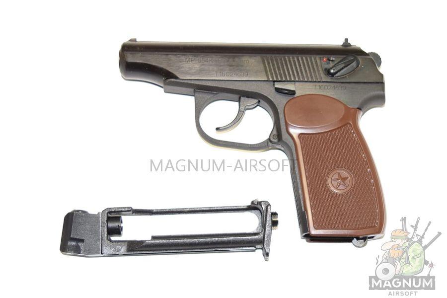 MR 654K 20 3 - Пистолет пневматический МР-654К-20 с обновленной рукояткой к.4,5