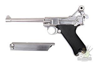 Пистолет WE P-08 6 хромированный (WE-P005)