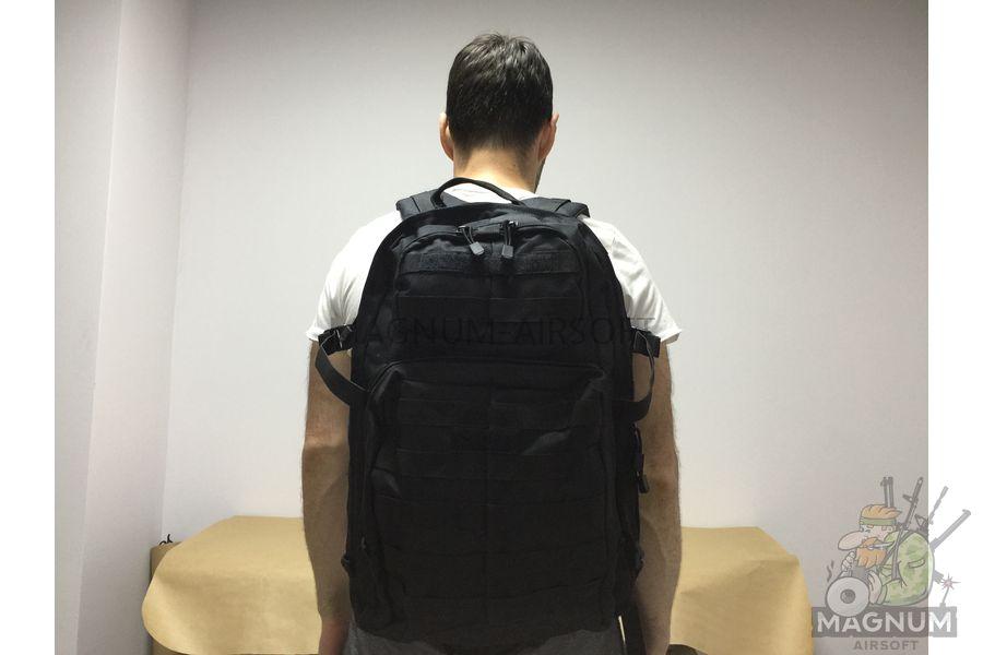 IMG 5438 - Рюкзак тактический 32 литра AS-BS0101B (32x48x21cm) - Черный