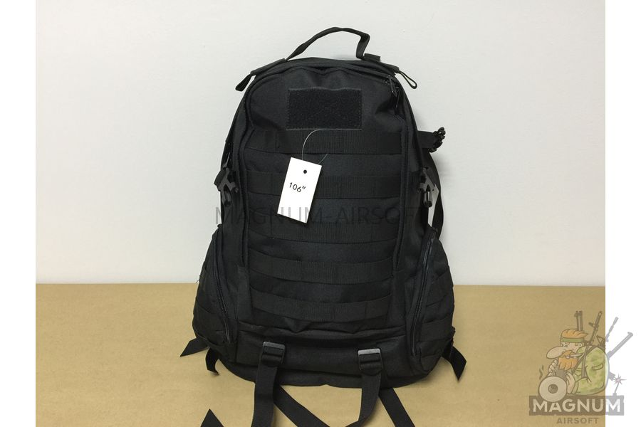 IMG 5440 - Рюкзак тактический 20 литров - Черный (32x49x15cm)