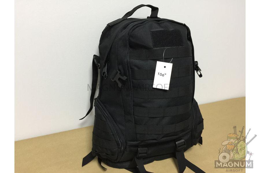 IMG 5442 - Рюкзак тактический 20 литров - Черный (32x49x15cm)