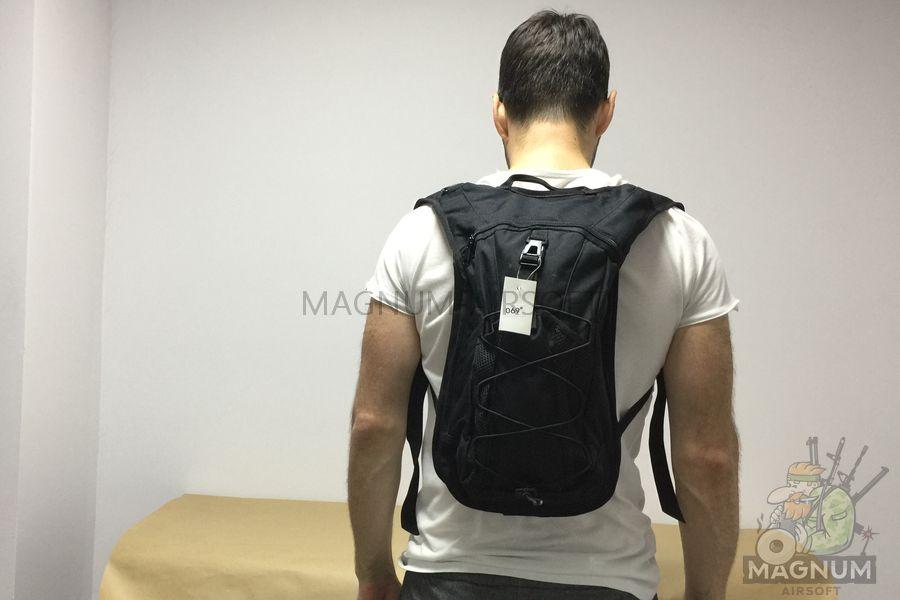 IMG 5463 - Рюкзак тактический 14 литров AS-BS0106B (24x41x14cm) - Черный