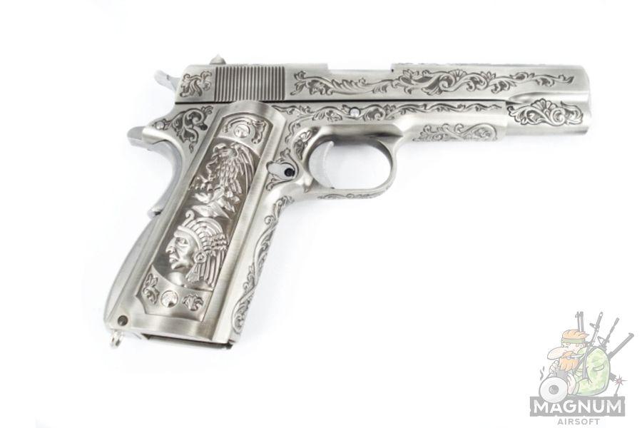 WE E006SP 1911 Classic Floral Pattern 1 - Пистолет WE COLT 1911 CLASSIC FLORAL PATTERN (WE-E006SP)