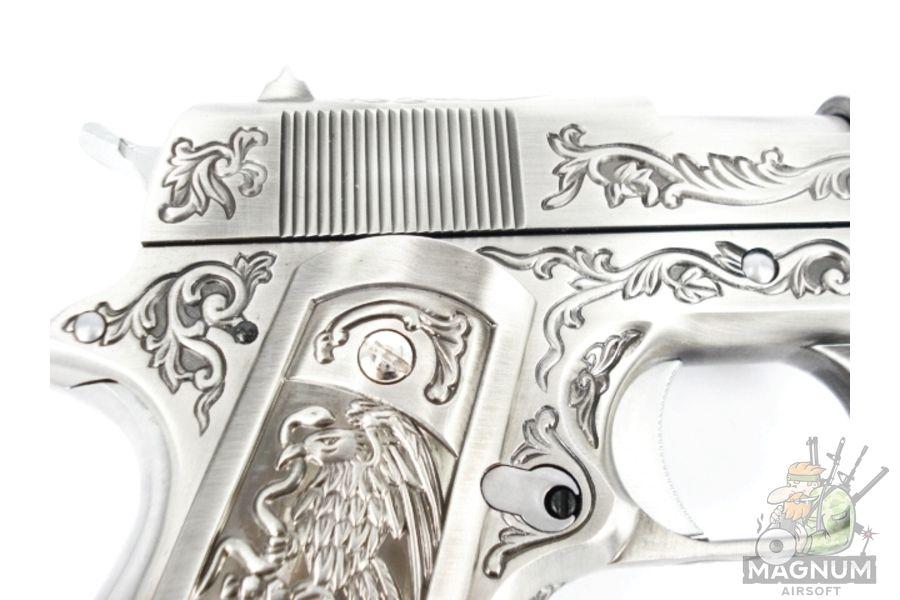 WE E006SP 1911 Classic Floral Pattern 4 - Пистолет WE COLT 1911 CLASSIC FLORAL PATTERN (WE-E006SP)