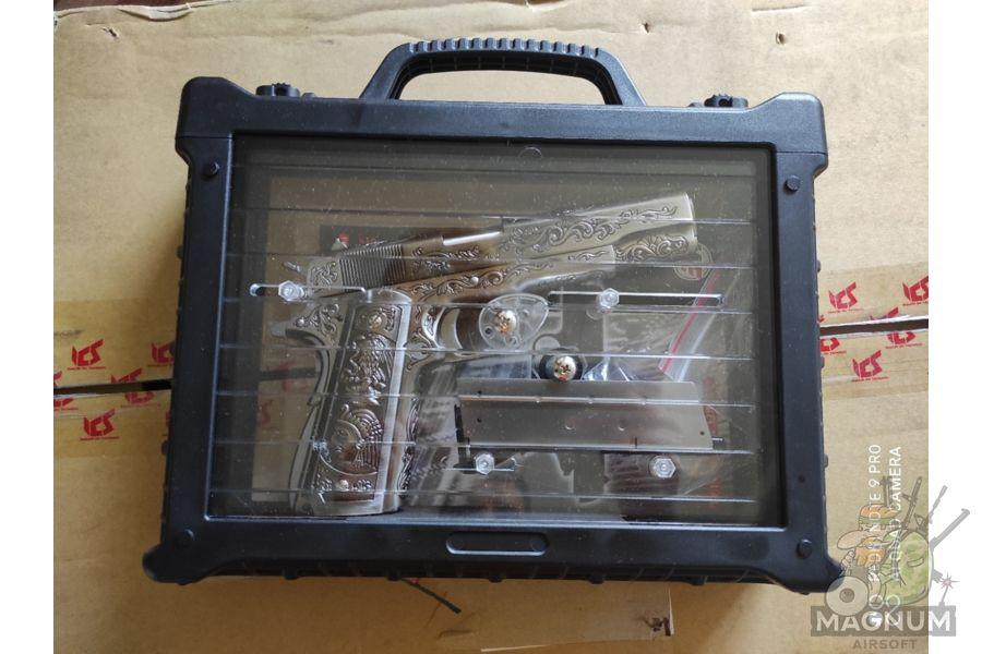 WE E006SP 1911 Classic Floral Pattern 7 - Пистолет WE COLT 1911 CLASSIC FLORAL PATTERN (WE-E006SP)