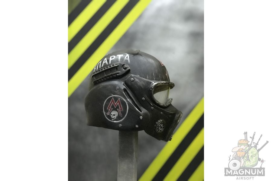 3 - Шлем Спартанец Метро 2033